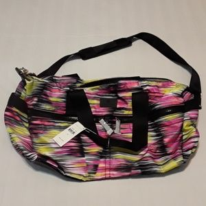 BNWT TRINA TURK Multi-Colored Duffle Bag